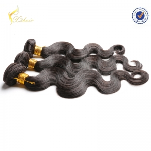 100% Human Brazilian Human Hair extensions Straight wave hair extension surplier in China