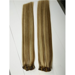100% Virgin remy virgin indian hair clip in hair extensions free sample