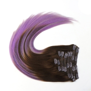 18 clips clip in hair extensions ~6 pcs per set,per pc with 3 clips