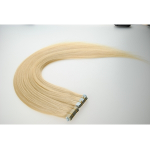 #1b color brazilian 8-30 inches glue tape in hair extensions seamless thin weft straight super tape hair weaving for sale