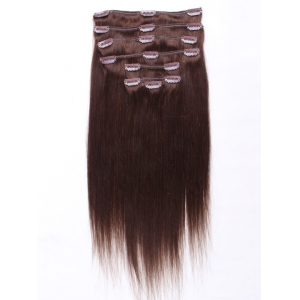 2016 Hot Selling!!! Direct Factory Wholesale Double Drawn Thick Ends Remy Clip In Hair Extension