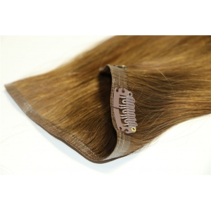 2016 Hot Selling!!! Direct Factory Wholesale Double Drawn Thick Ends Remy skin weft Clip In Hair