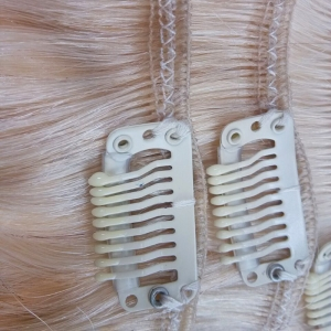 2016 Wholesale price remy clip in hair extension 220 grams