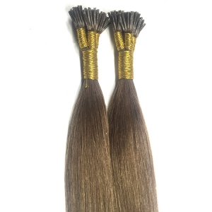 2017 factory price Italy glue remy double drawn mini i-tip hair