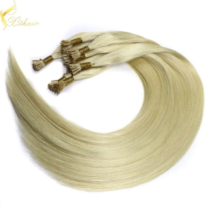 2017 new arrivals last 12 months full cuticle double drawn italy pre bonded hair