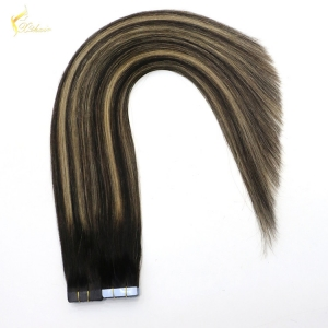 24 hours fast shipping Double Drawn 2g/Piece Brazilian Hair 18Inch Remy Tape Hair Extensions