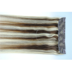 8-30inch straight fish line human flip in halo hair extensions dropship