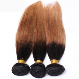 8a grade human hair two toned hair weaving color cheap human hair extensions