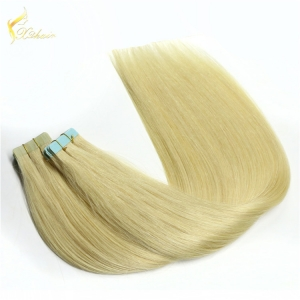 Active demand Raw virgin unprocessed single sided hair tape extensions in alibaba china factory