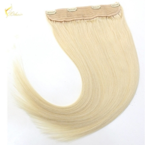 Beautiful double drawn remy halo hair extensions