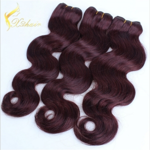 Body wave hair extension weaving triple weft machine wave peruvian hair