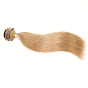 Brazilian hair Clip in weave human hair 30 inch blonde with high are easiest and most popular hair extensions