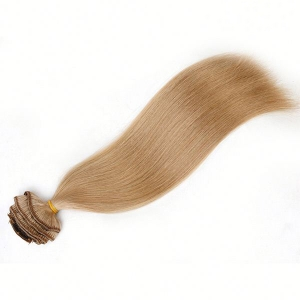 Cheap clip on hair extensions with high are easiest and most popular hair extensions , 100% human remy hair with natural feeling