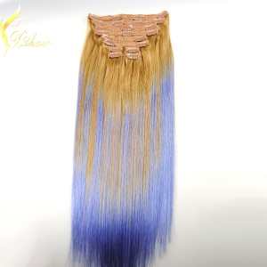 Clip In Hair Extensions Real Virgin Indian Remy Hair Factory Wholesale