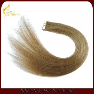 Double Drawn Blonde Tape Hair Extention