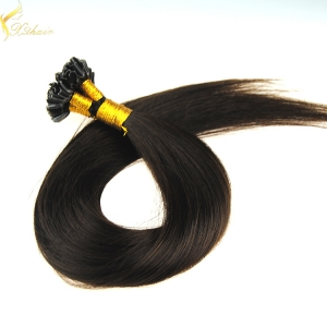 Double drawn stick tip indian remy pre bonded hair extension