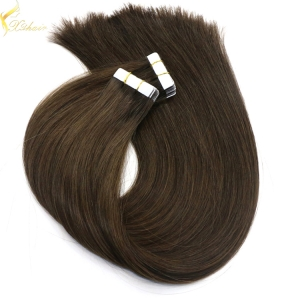 Double weft full cuticle wholesale european cuticle hair skin weft
