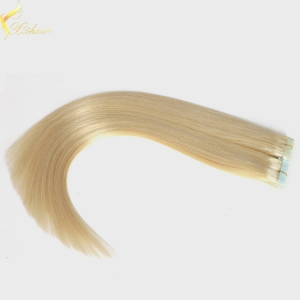 Double weft full cuticle wholesale strong tape hair