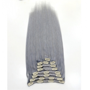 Factory Price Wholesale Malaysian Hair extension and Wavy Clip in Hair Extensions
