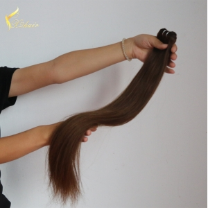 Factory Price Wholesale Straight Brazilian human hair sew in weave For Women #6