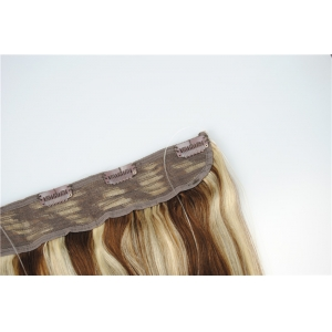 Factory supply stock human hair extension brown flip in human hair