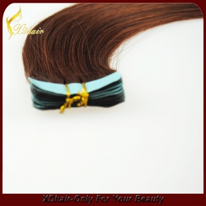 Fashion Brazilian Human Hair Different Colors Tape In Hair Extentions