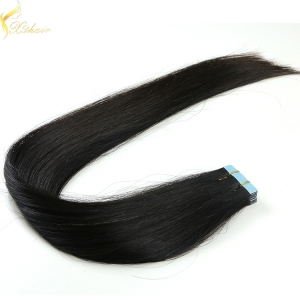 Fast ship large stock double drawn tape in hair extensions 3 grams
