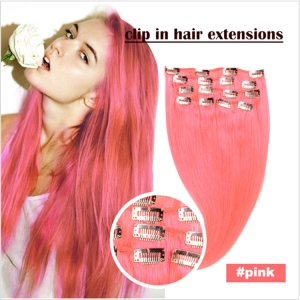 Good quality factory sale Seamless Clip In Hair Extensions
