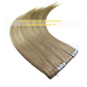 Great quality new fashion High quality 100% virgin brazilian silky straight remy human tape hair extension