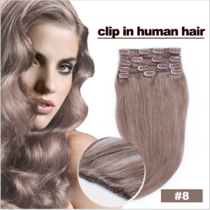 HOT SALING full head clip in human hair extensions, clip in human hair with best quality, extensions clip ins hair