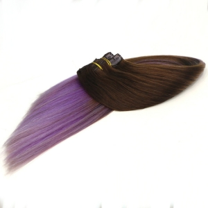 High Quality 7A Virgin Remy double drawn clip in hair extensions wholesale