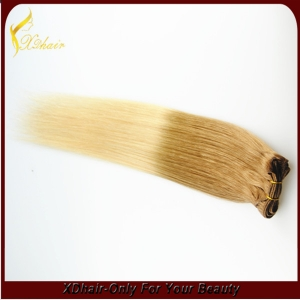 Hot selling trade assurance double weft shedding free hair weft indian remy