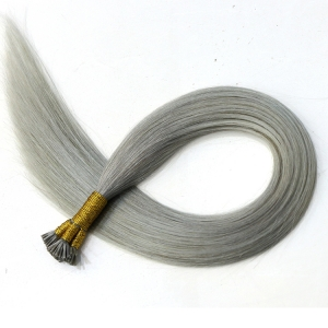 In stock fashion hot sale grade 8A I stick tip hair extensions