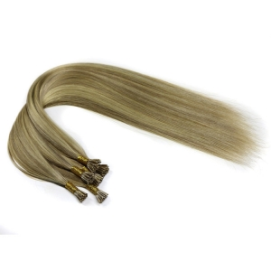 In stock fashion hot sale grade 8A unprocessed I stick tip hair extensions