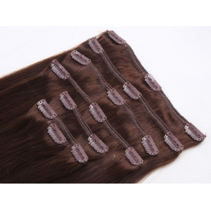 In stock fashion hot sale new styles grade 8A unprocessed clip in hair extensions