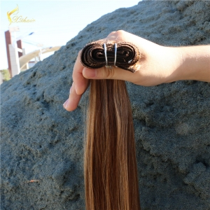 Juancheng Xinda hair Fast Shipping Piano Color Virgin Remy Brazilian Human Hair Weft Can be Accept Sample