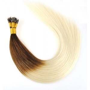 Nano ring human hair extension factory price wholesale hair extension