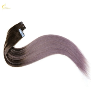 New tape human hair invisible shade balayage full head original new design adhesive grade russian remy tape in hair extensions