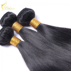 Peruvian Body wave Virgin Human Hair Weaving Unprocessed Natural Color Hair Extension Machine Made Weft