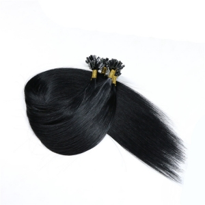 Premium Quality 100% Virgin Remy Human Hair nail keratin u tip hair extension