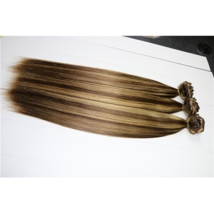 Product Description  QQ20151226114158.png   Type Double Drawn Full Head Piano Color Clip In Hair Extension  Materials 100% Remy hair  Quality grade Grade topA, single drawn , double drown