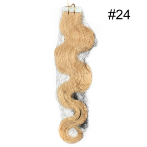 Staight Brazilian Peruvian malaysian indian remy human hair PU Skin Weft Tape Hair 2.5g/pc
