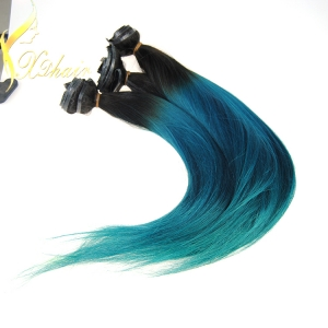 Top Grade Unprocessed Ombre Hair Extension Clip in