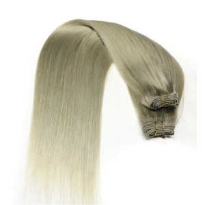 Top Weave Distributors Wholesale 100% Virgin Remy wet and wavy ombre colored indian human hair weave