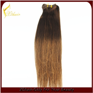 Top feeling human hair Indian Remy hair wave/weft in Seamless Weft Extensions
