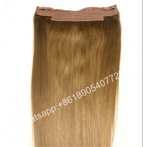 Top quality European hair extensions ombre color blonde and grey European hair flip in hair