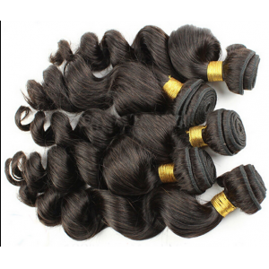 Top quality human  hair extension wave curly hair cheap price