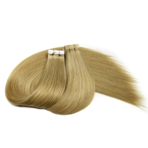 Undetetable straight double side tape skin type seamless easy high sticky russian invisiable pre tape in hair extension