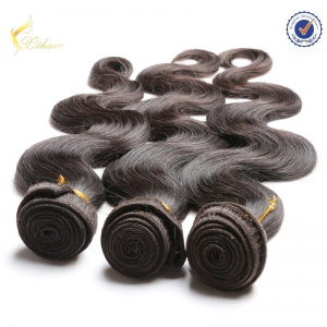 Unprocessed raw virgin Brazilian human hair extension Brazilian Hair Bundles