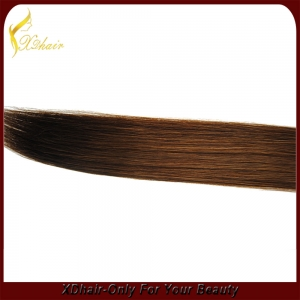 Virgin Remy skin weft hair extention PU tape hair